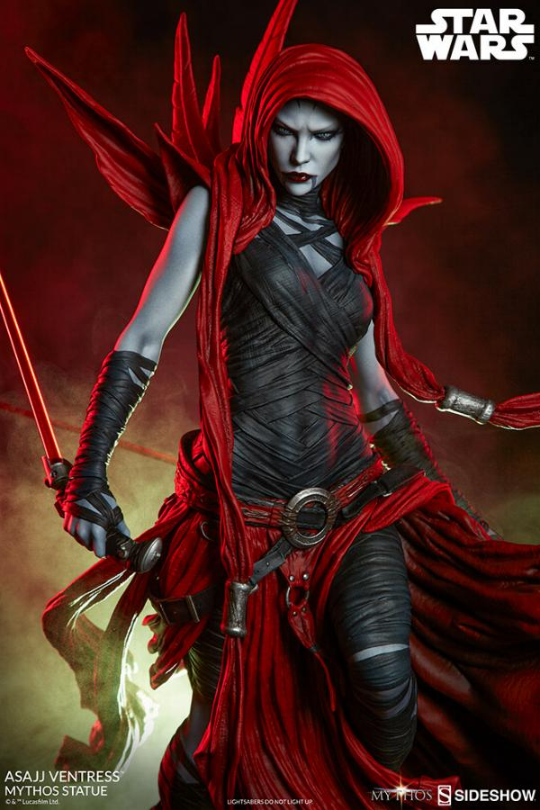 Asajj Ventress Mythos Statue - Sideshow Collectibles Asajj-14