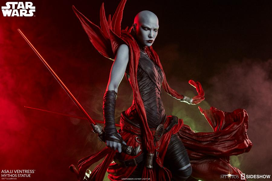 Asajj Ventress Mythos Statue - Sideshow Collectibles Asajj-16