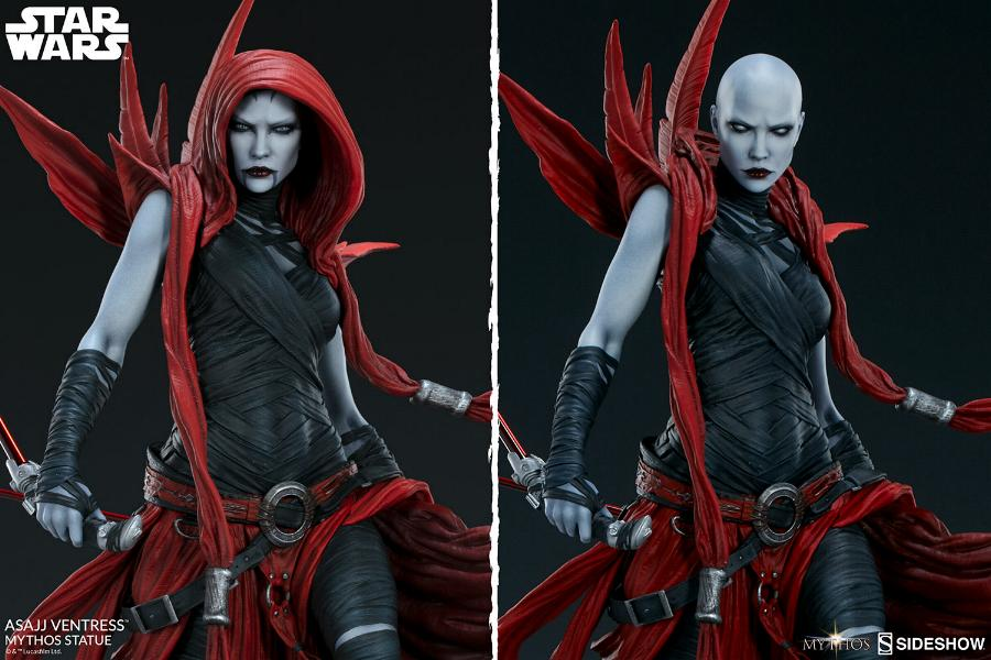 Asajj Ventress Mythos Statue - Sideshow Collectibles Asajj-17
