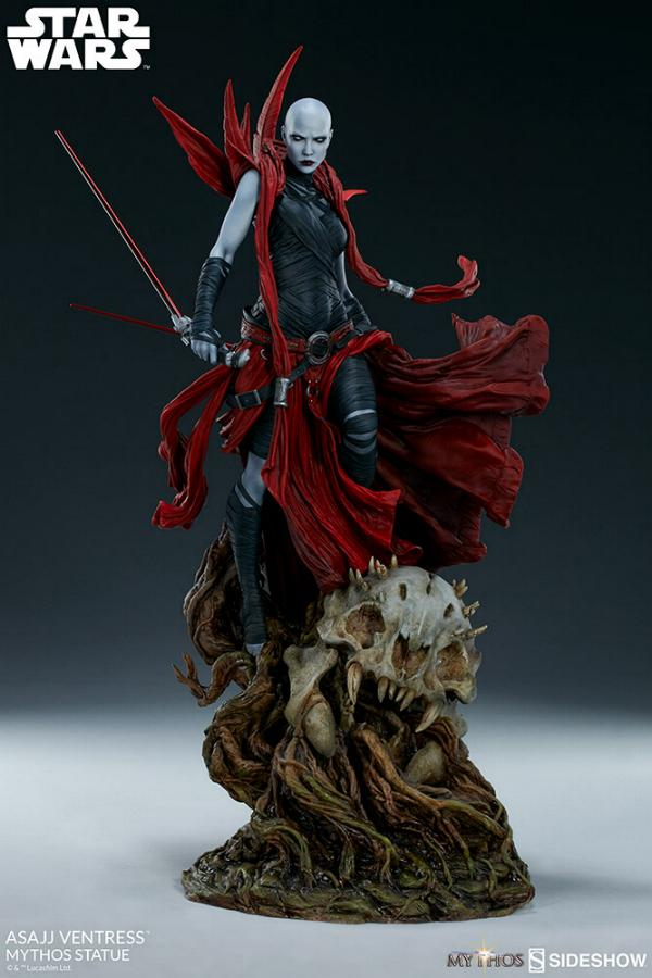 Asajj Ventress Mythos Statue - Sideshow Collectibles Asajj-19
