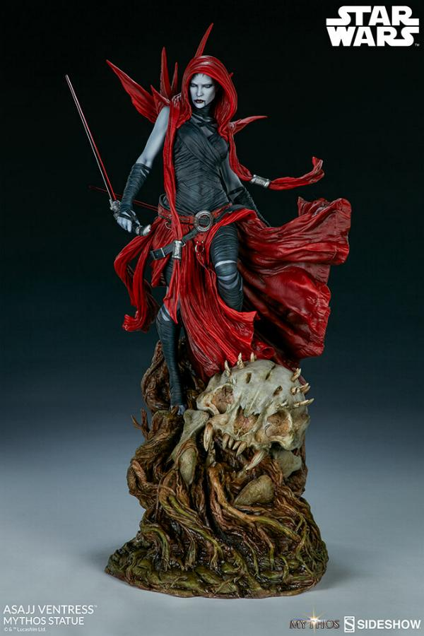 Asajj Ventress Mythos Statue - Sideshow Collectibles Asajj-20