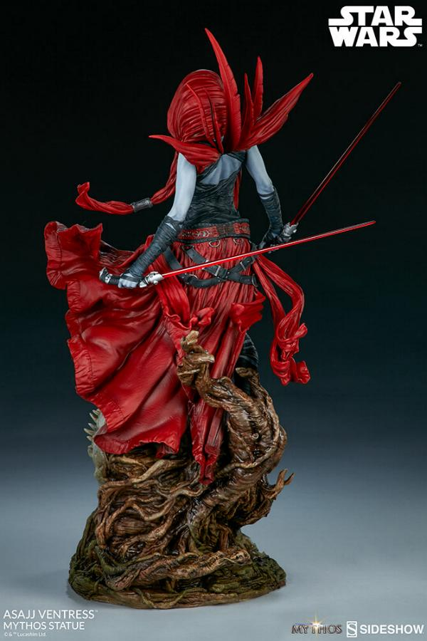 Asajj Ventress Mythos Statue - Sideshow Collectibles Asajj-22