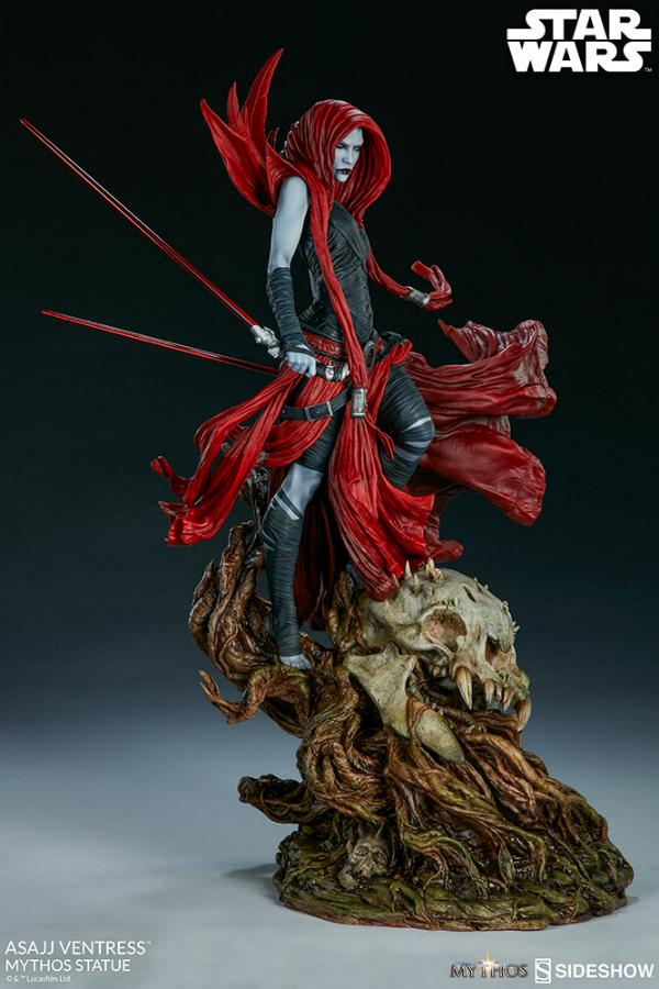 Asajj Ventress Mythos Statue - Sideshow Collectibles Asajj-23
