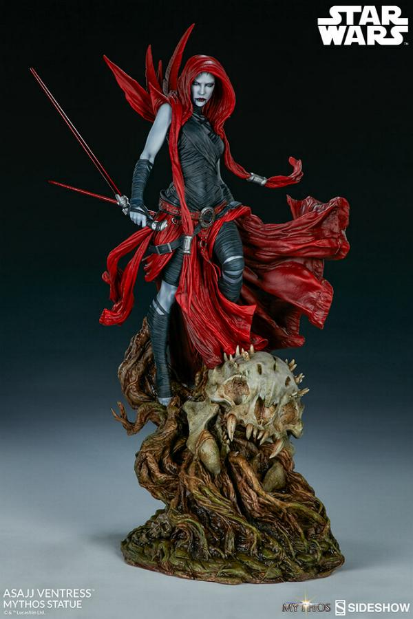 Asajj Ventress Mythos Statue - Sideshow Collectibles Asajj-24