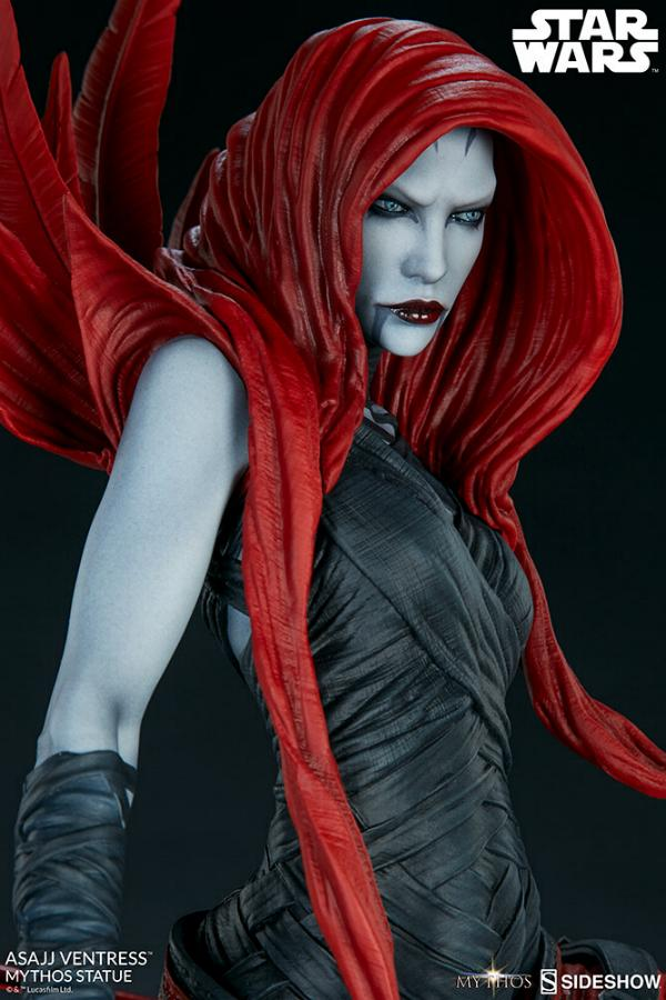 Asajj Ventress Mythos Statue - Sideshow Collectibles Asajj-25