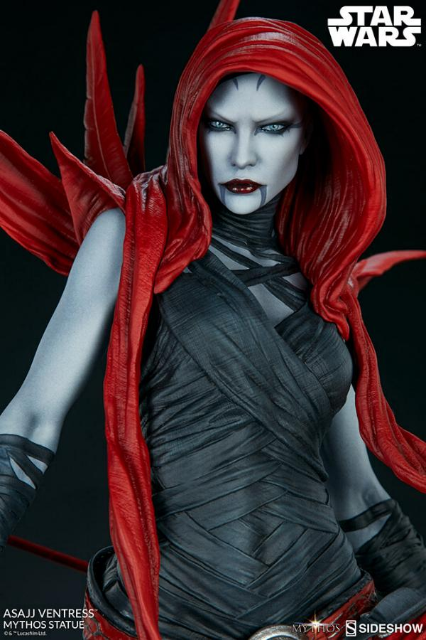 Asajj Ventress Mythos Statue - Sideshow Collectibles Asajj-26