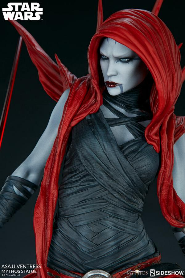 Asajj Ventress Mythos Statue - Sideshow Collectibles Asajj-27