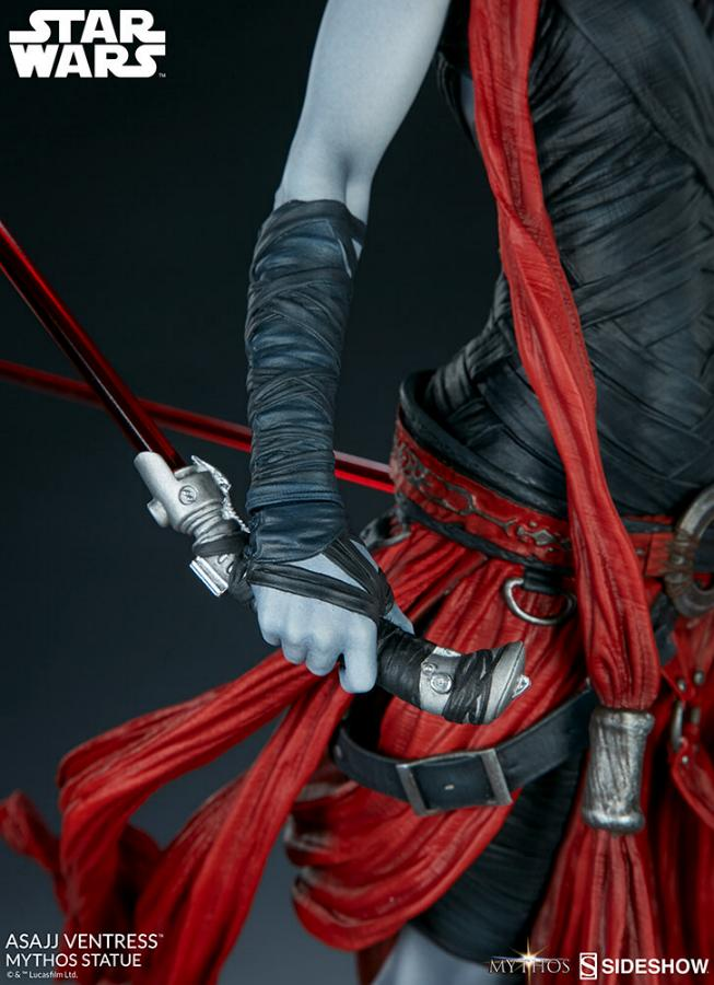 Asajj Ventress Mythos Statue - Sideshow Collectibles Asajj-29