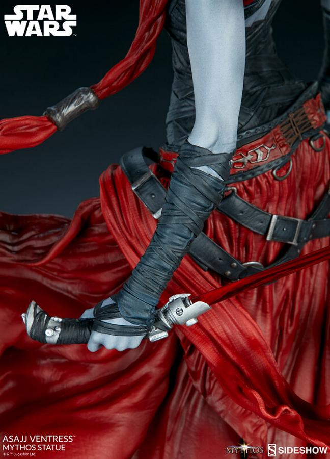 Asajj Ventress Mythos Statue - Sideshow Collectibles Asajj-30