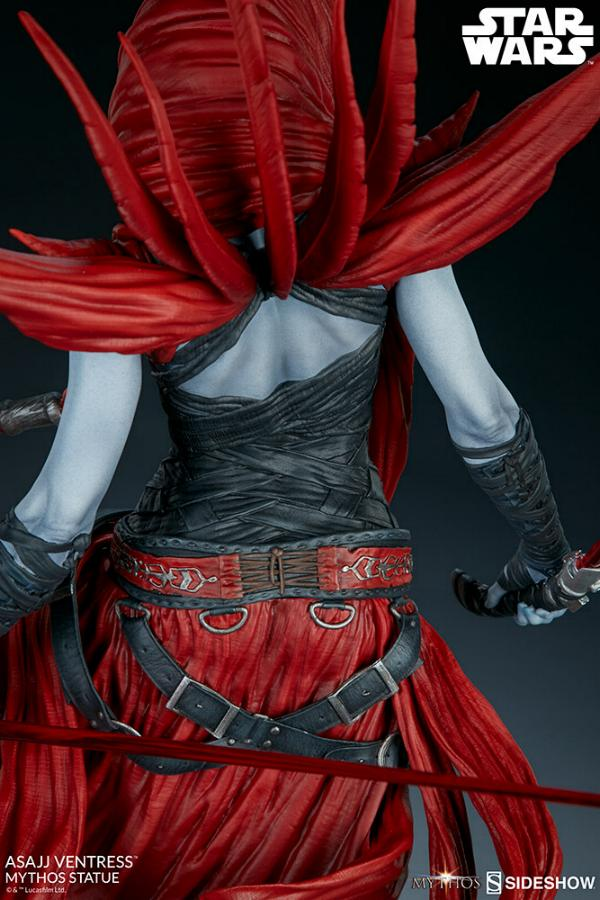 Asajj Ventress Mythos Statue - Sideshow Collectibles Asajj-32