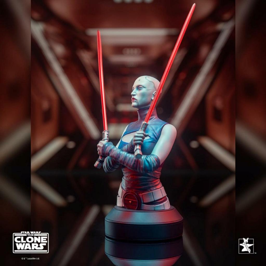 Asajj Ventress Mini Bust - Star Wars Clone Wars - Gentle  Asajj_18