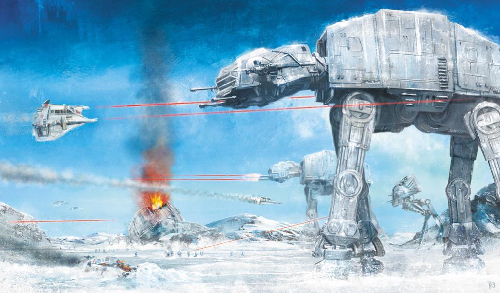 Assault on Echo Base - Star Wars - ACME Archives Assaul10