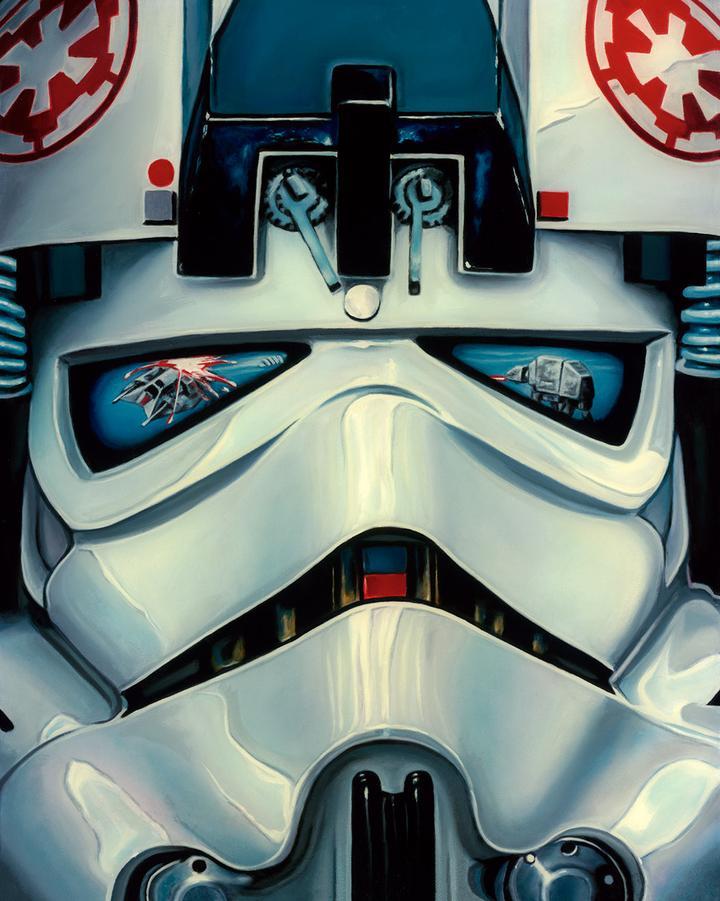 Artwork Star Wars Artiste : Christian Waggoner At-at_10