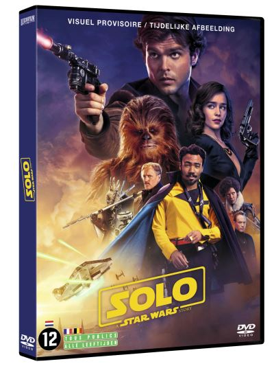 Solo - DVD Blu Ray Star Wars Solo A Star Wars Story  B_dvd11
