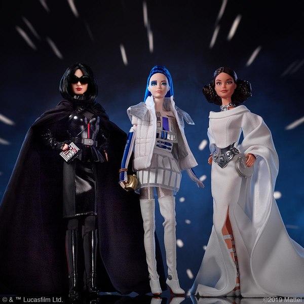 MATTEL : De nouvelles poupées Barbie inspirées par Star Wars Barbie10