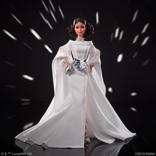 MATTEL : De nouvelles poupées Barbie inspirées par Star Wars Barbie12