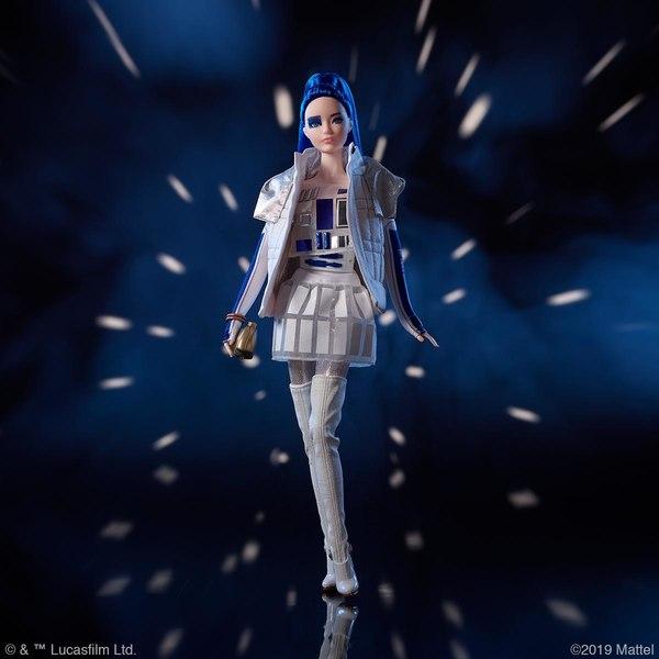 MATTEL : De nouvelles poupées Barbie inspirées par Star Wars Barbie13