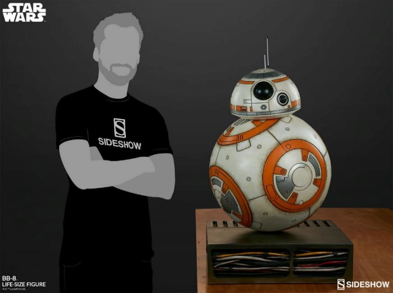 Sideshow Collectibles - BB-8 Life Size Figure Bb8_ls12