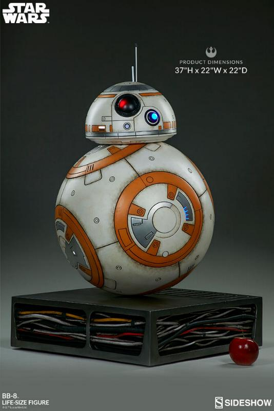 Sideshow Collectibles - BB-8 Life Size Figure Bb8_ls13