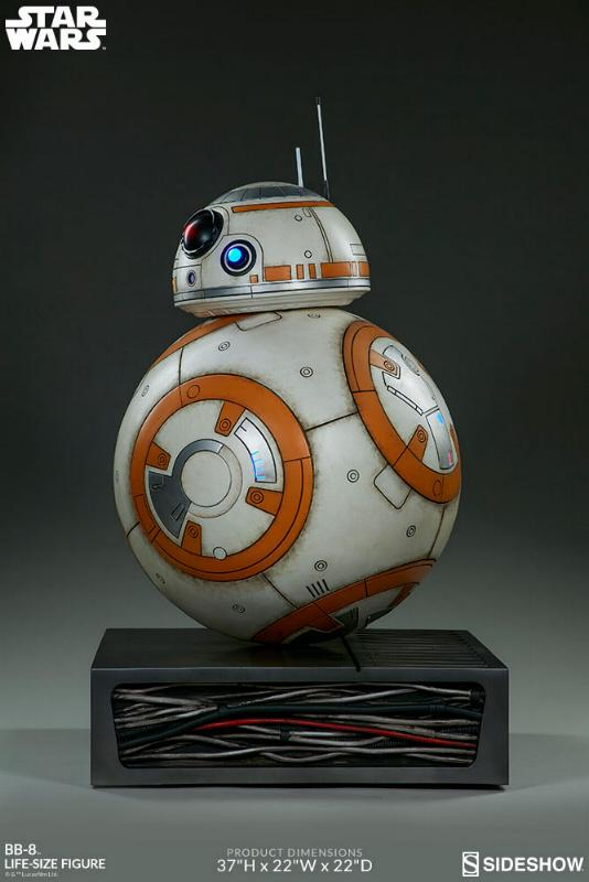 Sideshow Collectibles - BB-8 Life Size Figure Bb8_ls14