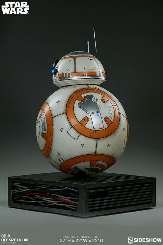 Sideshow Collectibles - BB-8 Life Size Figure Bb8_ls15