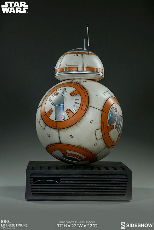 Sideshow Collectibles - BB-8 Life Size Figure Bb8_ls16
