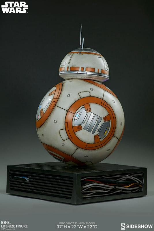 Sideshow Collectibles - BB-8 Life Size Figure Bb8_ls17