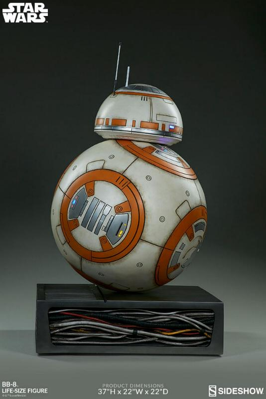 Sideshow Collectibles - BB-8 Life Size Figure Bb8_ls18