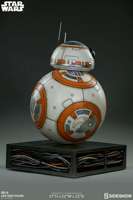 Sideshow Collectibles - BB-8 Life Size Figure Bb8_ls19
