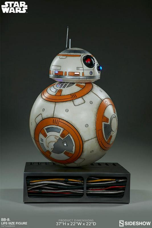 Sideshow Collectibles - BB-8 Life Size Figure Bb8_ls20