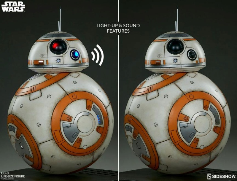 Sideshow Collectibles - BB-8 Life Size Figure Bb8_ls21