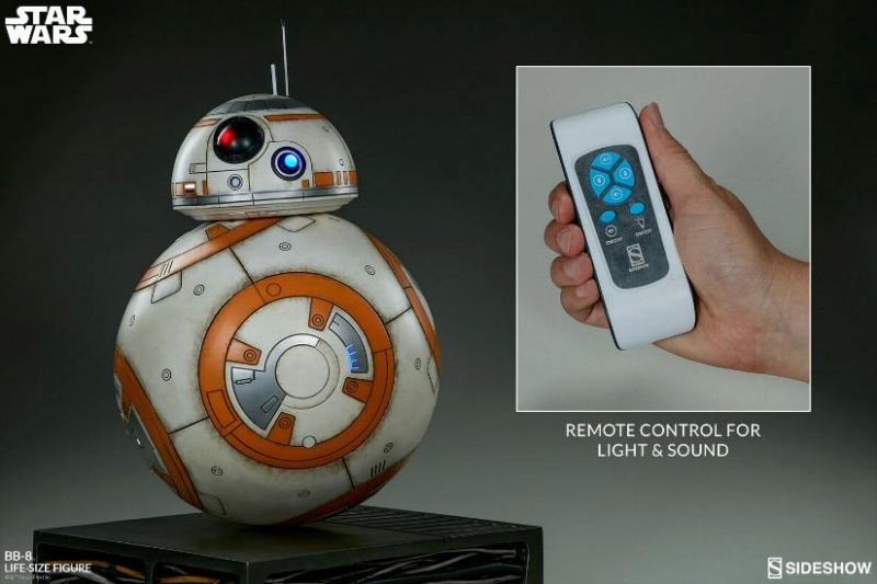Sideshow Collectibles - BB-8 Life Size Figure Bb8_ls22