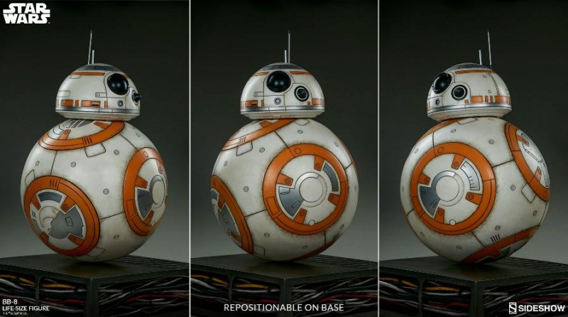 Sideshow Collectibles - BB-8 Life Size Figure Bb8_ls23