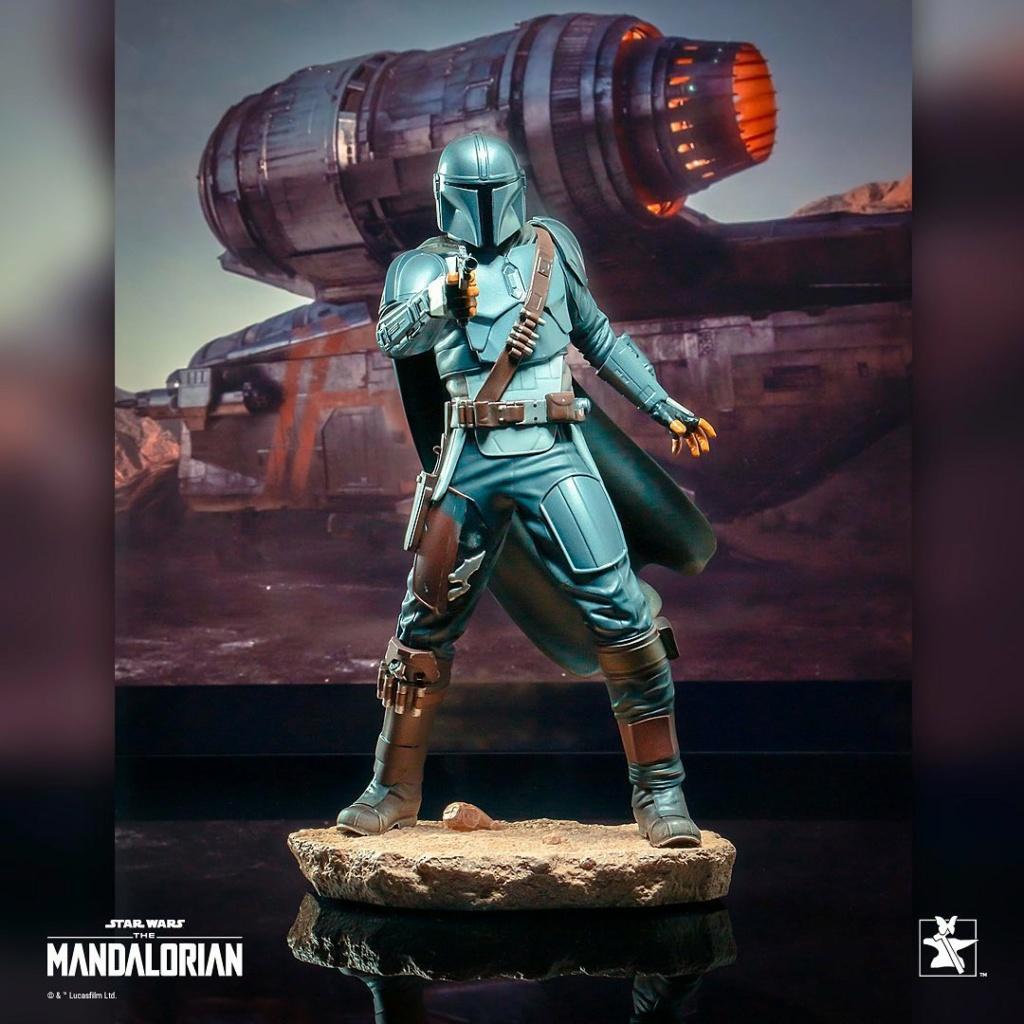 The Mandalorian Beskar Premier Collection Statue Gentle Gian Beskar10