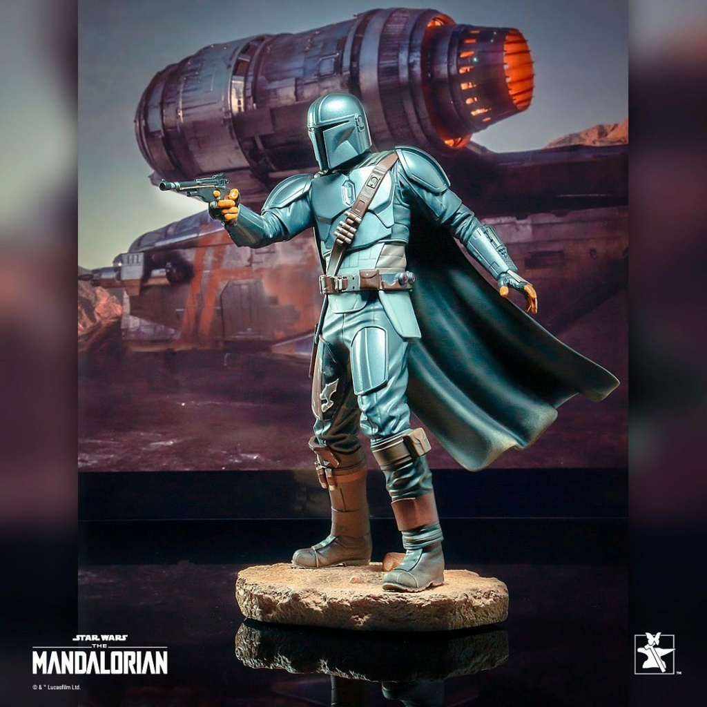 The Mandalorian Beskar Premier Collection Statue Gentle Gian Beskar11