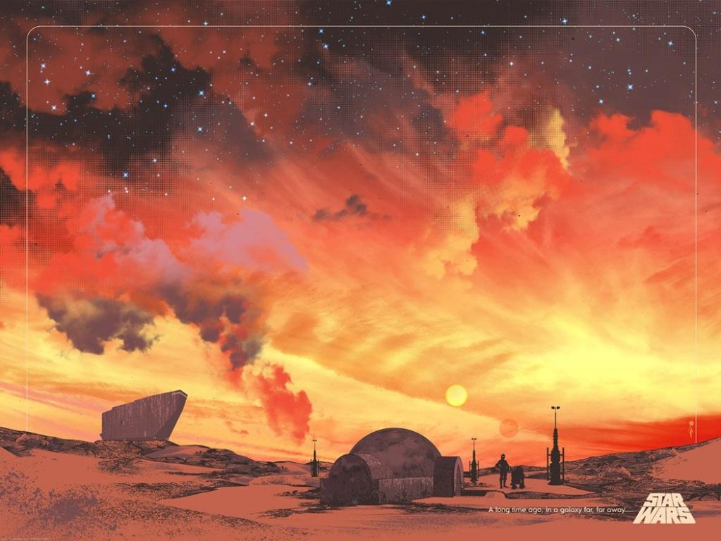 Binary Sunset - Star Wars ACME Archives Binary10