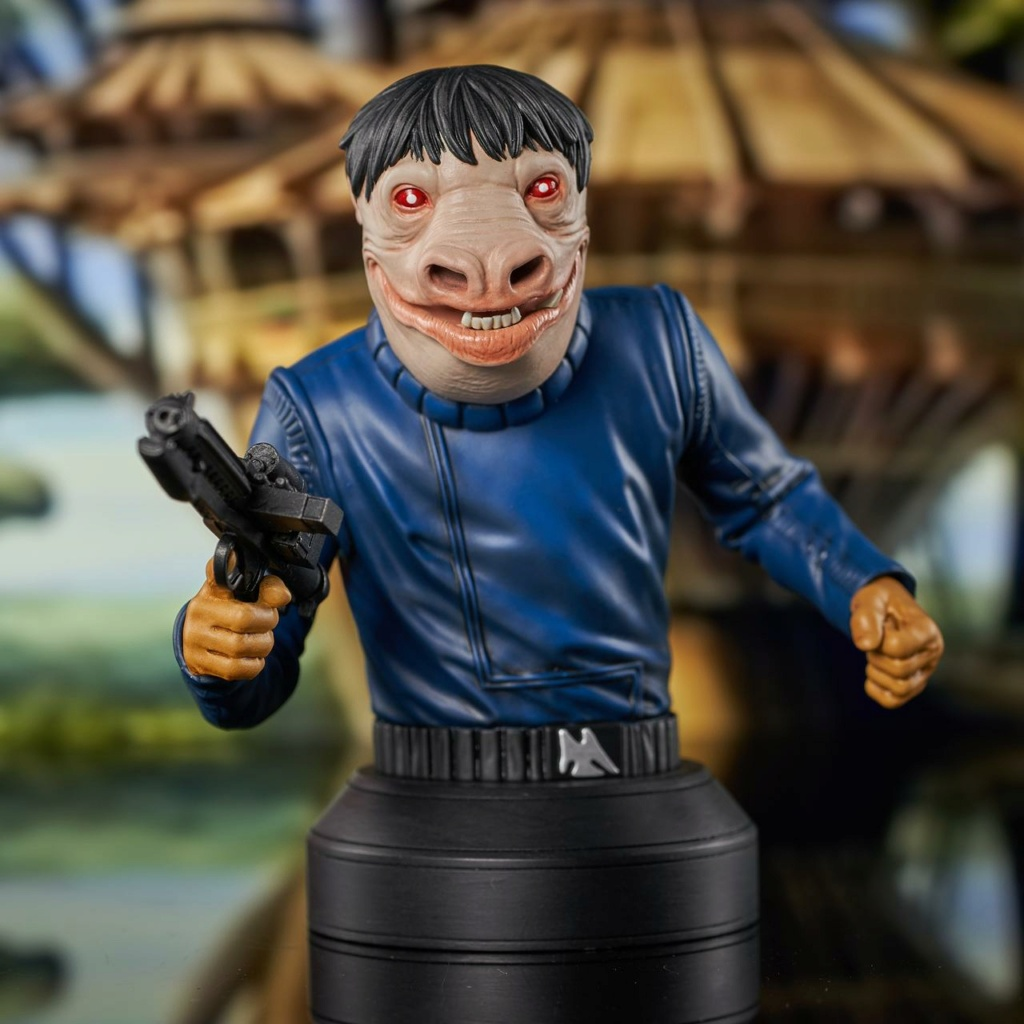 Blue Snaggletooth Mini Bust - 2021 Holiday Gift Exclusive Blue-s10