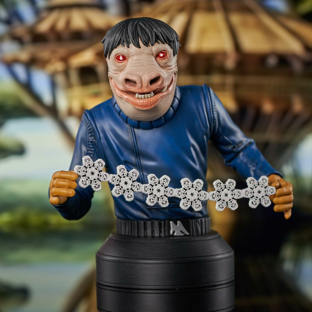 Blue Snaggletooth Mini Bust - 2021 Holiday Gift Exclusive Blue-s11