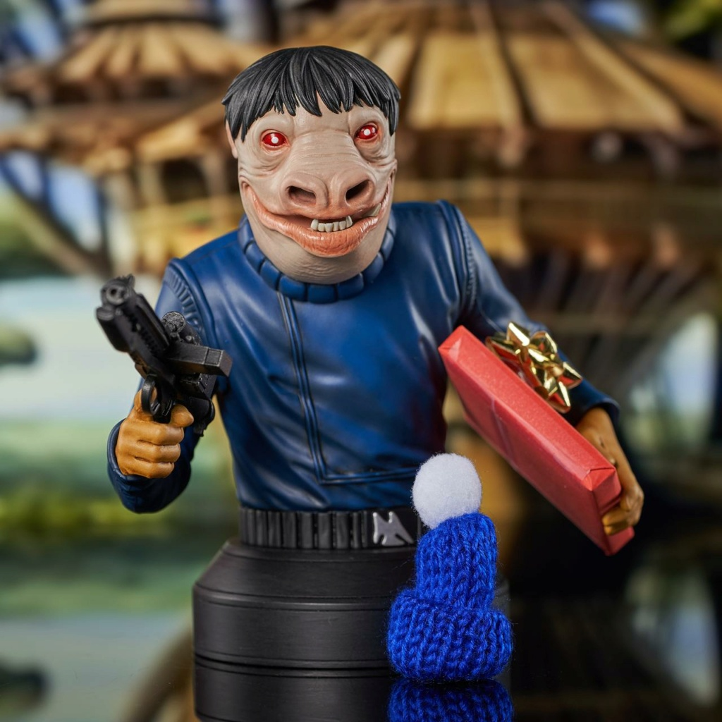 Blue Snaggletooth Mini Bust - 2021 Holiday Gift Exclusive Blue-s12