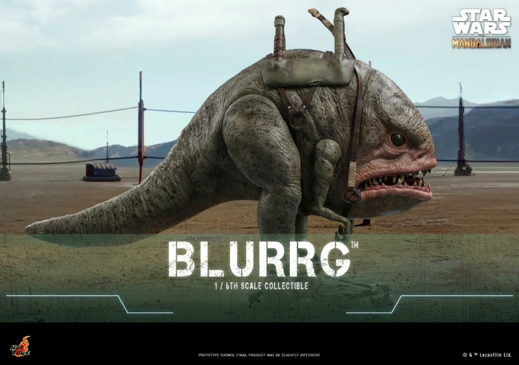 Blurrg 1/6th scale - Star Wars: The Mandalorian - Hot Toys Blurrg10