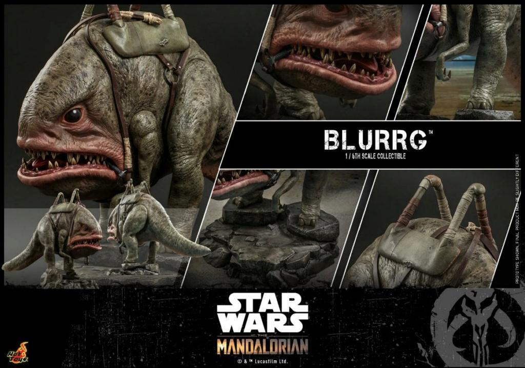 Blurrg 1/6th scale - Star Wars: The Mandalorian - Hot Toys Blurrg20