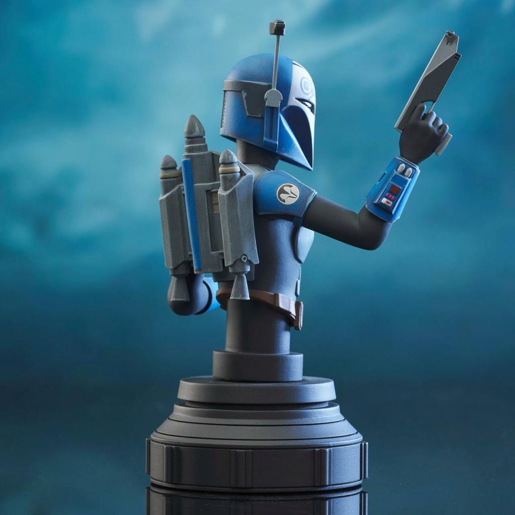 Bo-Katan Mini Bust Star Wars: The Clone Wars - Gentle Giant Bo-kat45
