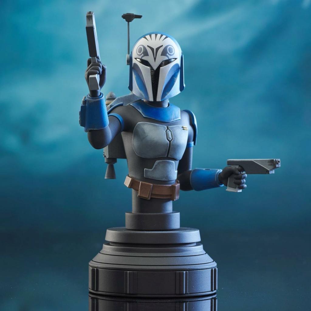 Bo-Katan Mini Bust Star Wars: The Clone Wars - Gentle Giant Bo-kat47