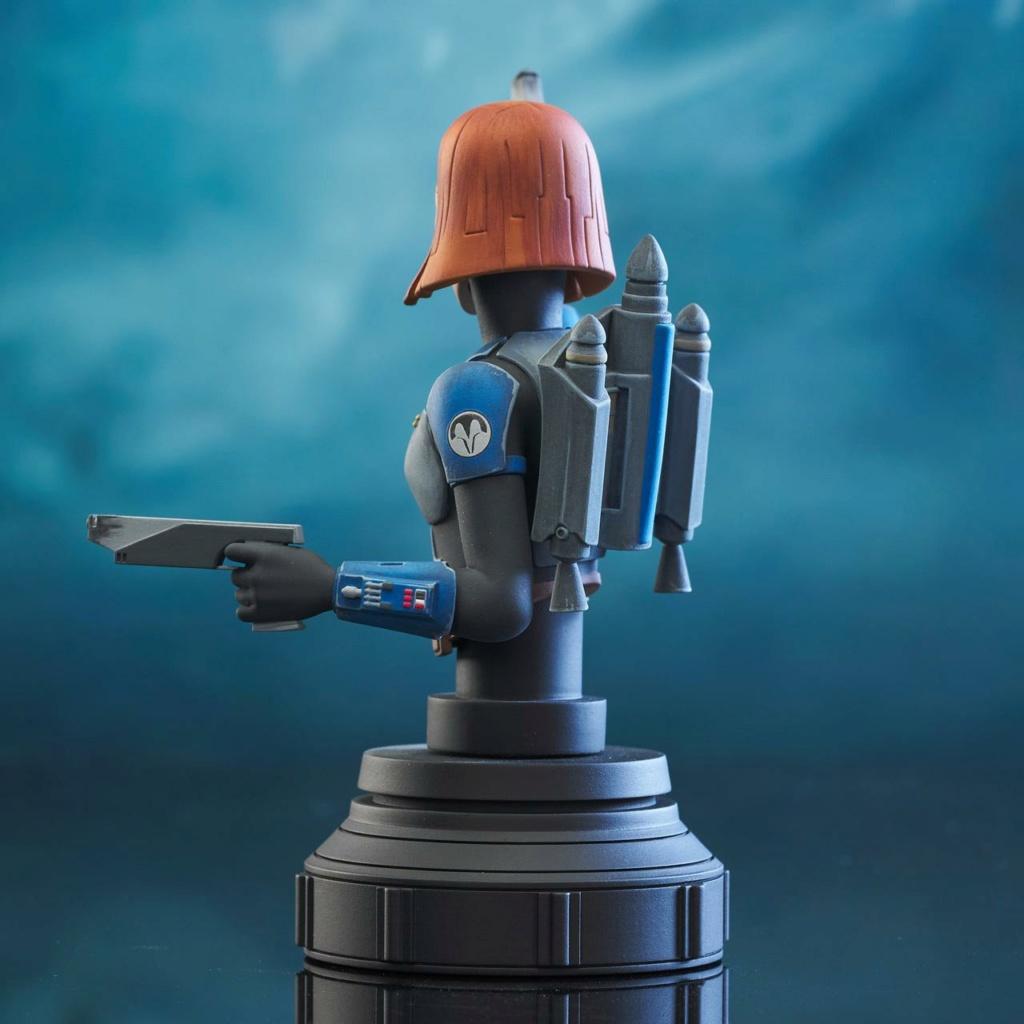 Bo-Katan Mini Bust Star Wars: The Clone Wars - Gentle Giant Bo-kat50