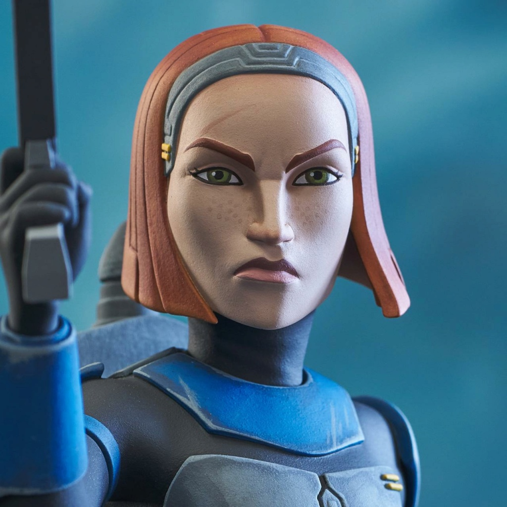Bo-Katan Mini Bust Star Wars: The Clone Wars - Gentle Giant Bo-kat52