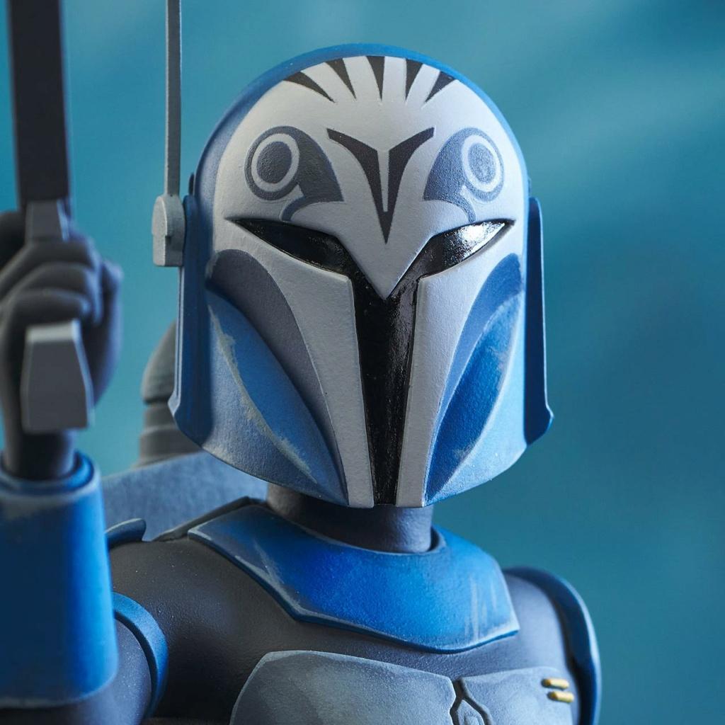 Bo-Katan Mini Bust Star Wars: The Clone Wars - Gentle Giant Bo-kat53