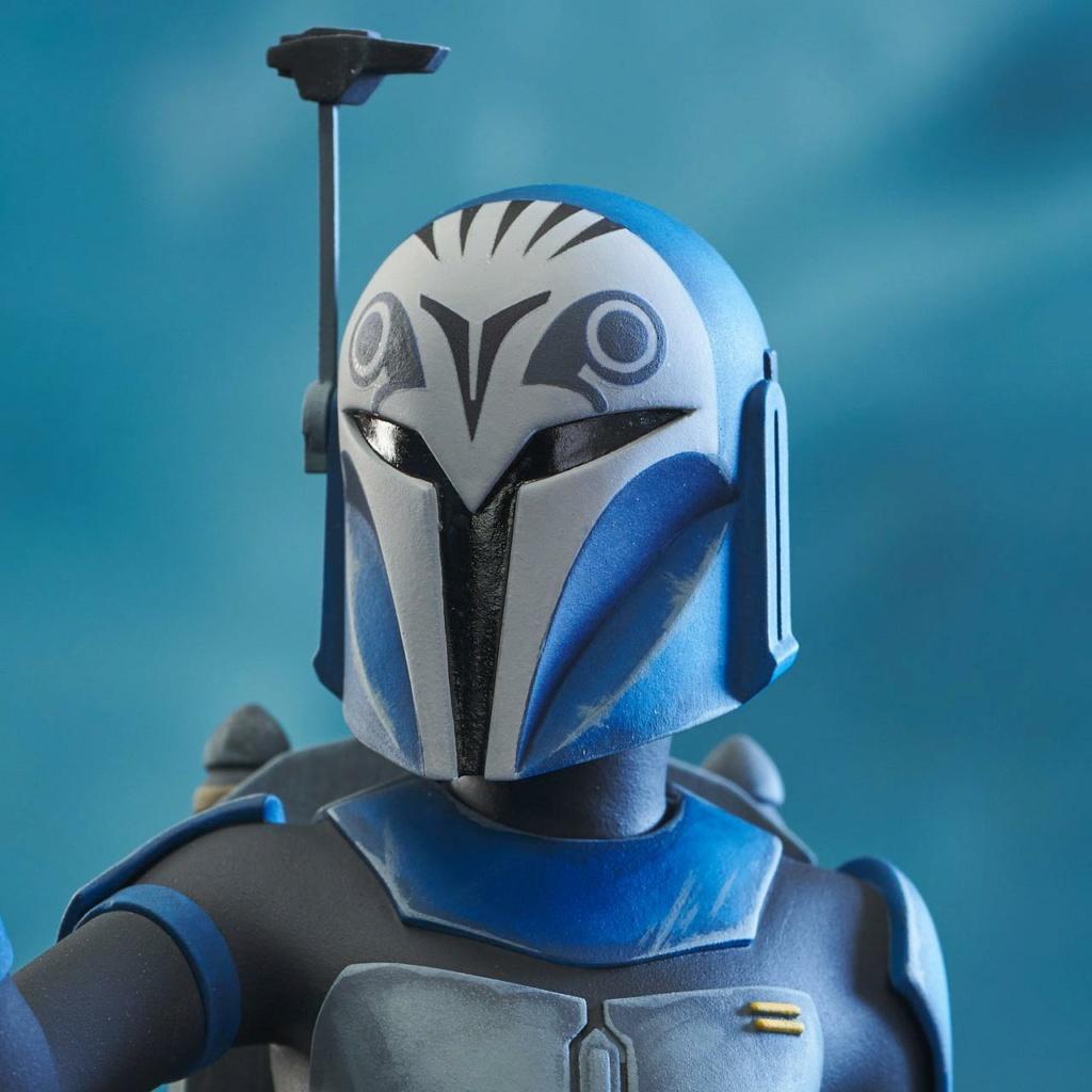 Bo-Katan Mini Bust Star Wars: The Clone Wars - Gentle Giant Bo-kat54