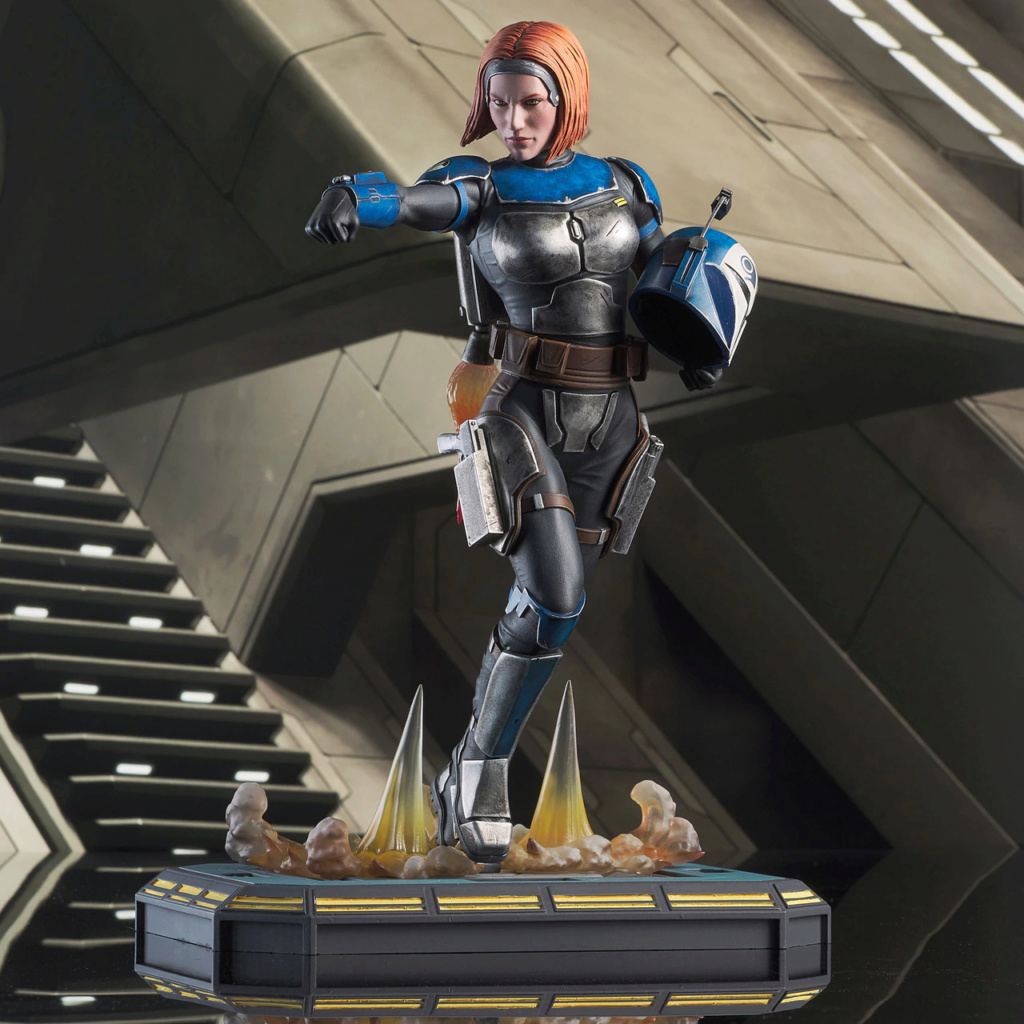 Bo Katan - TCW - Premier Collection Statue - Gentle Giant Bo_kat15