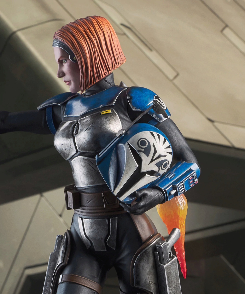 Bo Katan - TCW - Premier Collection Statue - Gentle Giant Bo_kat21