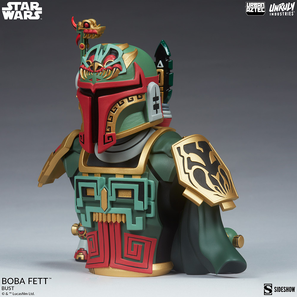 Boba Fett Designer Collectible Figure - Sideshow Collectible Boba-f29